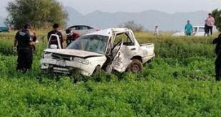 Fallece taxista tras accidentarse Pachuca-Ixmiquilpan