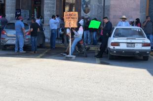 Se manifiestan contra Pascual Charrez Pedraza en presidencia de Ixmiquilpan