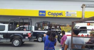 Grupo de sujetos roba en un Coppel de Ixmiquilpan