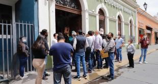 Comerciantes de Pachuca se niegan a cerrar nuevamente