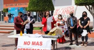 Con plantón, exigen que gobierno estatal intervenga en el caso de Cipriano Charrez