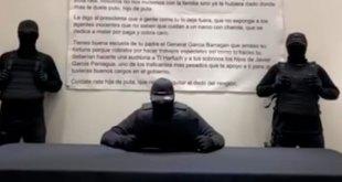 encapuchados amenazan García Harfuch