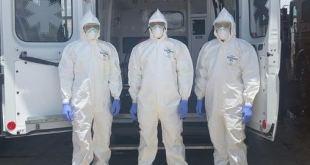 Bomberos Tulancingo trasladan diario tres infectados