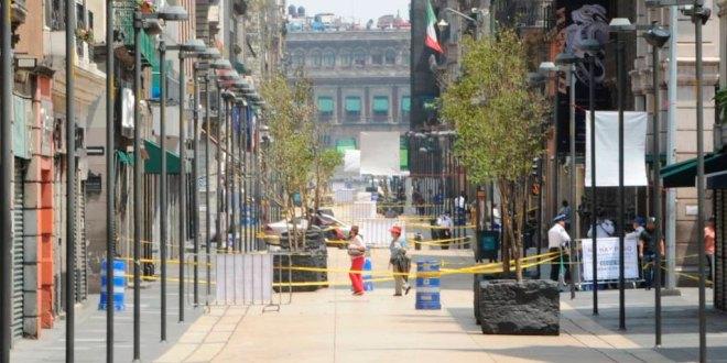 Suspenden reapertura Centro Histórico Ciudad de México