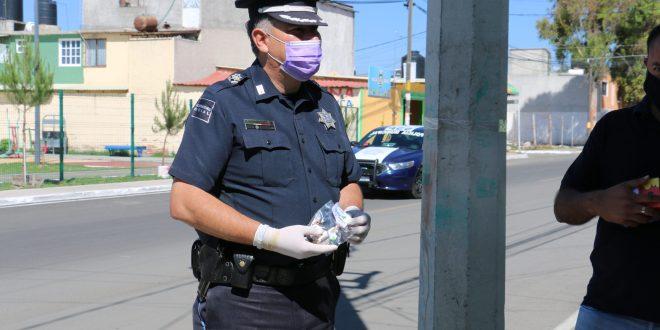 policías Hidalgo positivo Covid-19