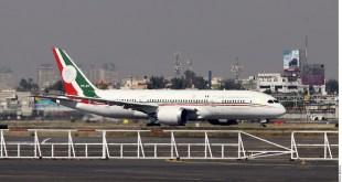 Despega de California el avión presidencial con destino a México