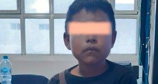 busca familia niño hallado Actopan