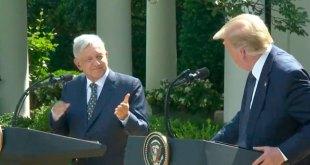 Trump respeto comprensión López Obrador