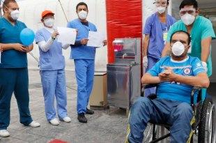 Dan alta hombre hospital inflable