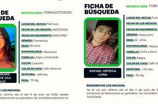busca menores desaparecieron Hidalgo