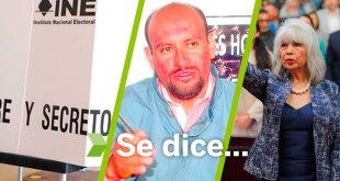 Se dice... que elecciones, María Teodora Islas y César lemus