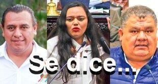 Se dice... que Aldo Molina, Crisóforo Rodríguez y Roxana Montealegre