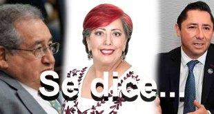 Se dice... Ricardo Baptista, Raúl Camacho y Corina Martínez