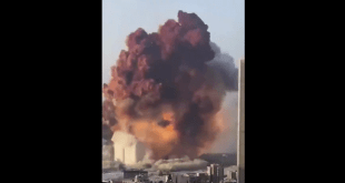 Fuertes explosiones en puerto de Beirut, Líbano dejan decenas de heridos