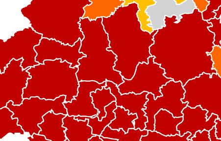 Ixmiquilpan y Actopan, municipios con más contagios en el Valle del Mezquital