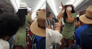 Lady Covid se hace viral en redes sociales