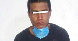 Atrapan a ladrón que asaltó comercio en Actopan