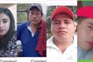 Nueve personas no localizadas en Hidalgo en lo que va de agosto