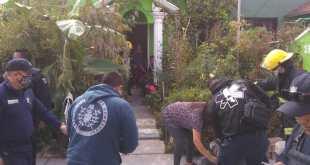 Se intoxican dos al pintar cisterna en casa de San Antonio, en Pachuca