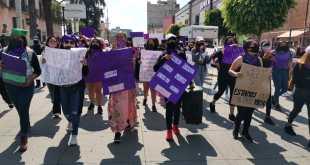 Con protesta en Tula, mujeres exigen cese de violencia y feminicidios