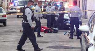 Asesinan a una persona cerca del Centro de Pachuca