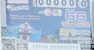 Presentan boleto de Lotería por el centenario de Mineral de la Reforma