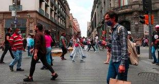 Ciudad de México semáforo naranja