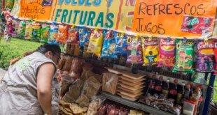 Oaxaca productos chatarra niños