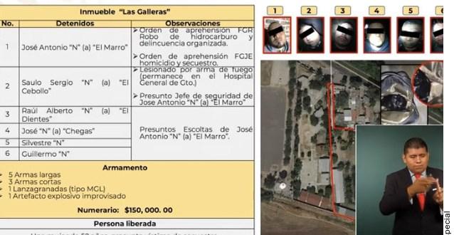 Así fue la captura de El Marro en Guanajuato: participaron más de 200 efectivos