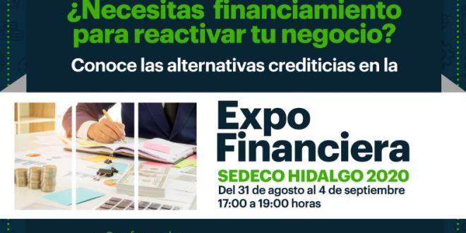 expo créditos reactivar economía Hidalgo covid