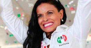 Adriana Flores protesta presidenta PRI Pachuca