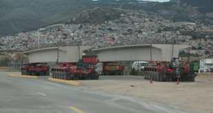 Habrá reducción de carriles por el distribuidor de 11 de Julio