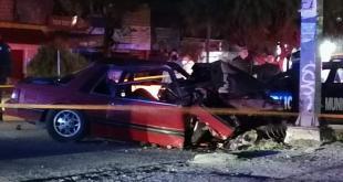 Fallece una persona tras accidente en el bulevar Colosio de Pachuca