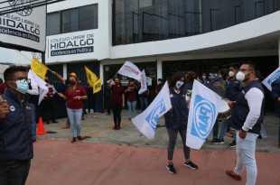 Llevan a cabo debate entre aspirantes a la alcaldía de Pachuca