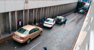 Tres heridos carambola Río de las Avenidas