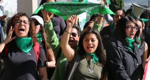 Feministas se movilizanhoy en Pachuca, en pro del aborto