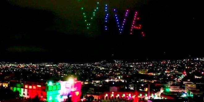 Saldo blanco festejos patrios Hidalgo