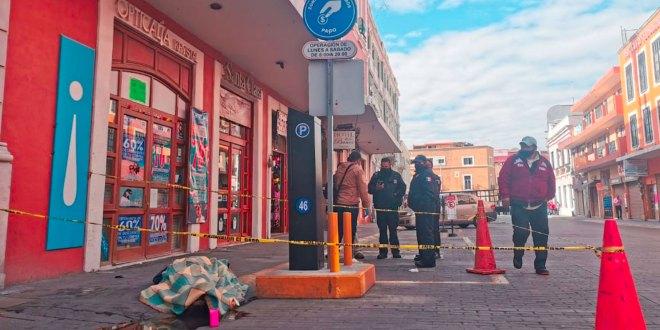 Muere hombre centro Pachuca