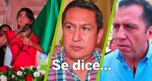 Se dice... que Ricardo Crespo, Lucía Bautista y Marco Antonio Ramos