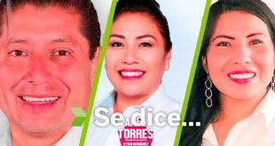 Se dice... que Edmundo Ramírez, Hilda Miranda y Anel Torres