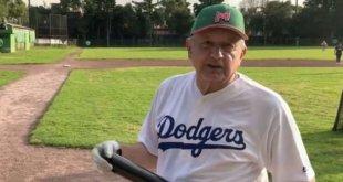 López Obrador celebra triunfo de los Dodgers y felicita a mexicanos