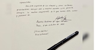 Firma Beatriz Müller nota 2021 apellidos AMLO