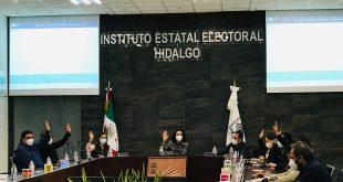 Zimapán, a recuento total; concluyen en Tulancingo, informa IEEH