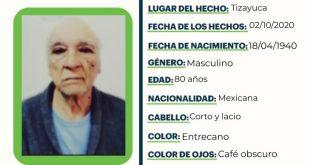 Se busca a Rodolfo Ángel Navarrete Gutiérrez, extraviado en Tizayuca
