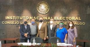 INE protocolo sanitario elecciones Lorenzo Córdova