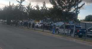 Reportan presencia de sujetos encapuchados en centro de Tizayuca
