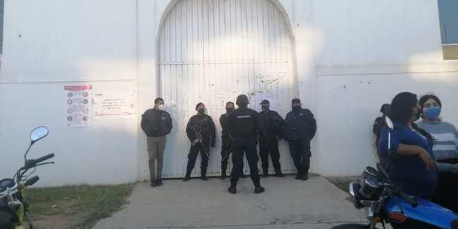 Bajo vigilancia, cierre de casillas en Tulancingo