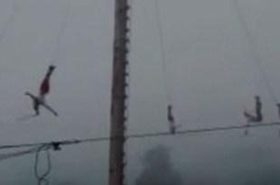 Acaxochitlán volador Papantla 15 metros