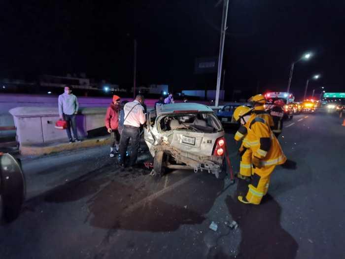 conducir estado de ebriedad tres vehículos Río de las Avenidas