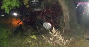 Muere hombre en volcadura en Tlahuelilpan